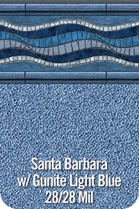 Santa Barbara w/ Gunite Light Blue