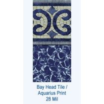 Bay Head Tile / Aquarius Print