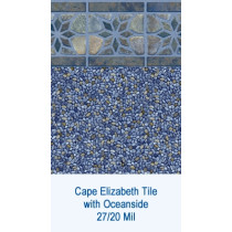 Cape Elizabeth Tile w/ Oceanside