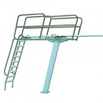 Diving Tower w/Ladder at Rear