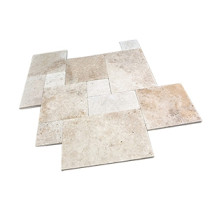 Ivory Classic Travertine Paver Sets