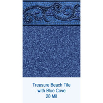 Treasure Beach Tile w/ Blue Cove