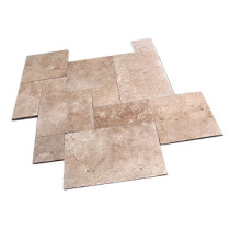 Walnut Light Travertine Paver Sets